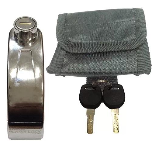 Khóa đĩa báo động chống trộm xe máy Kinbar K808-3
