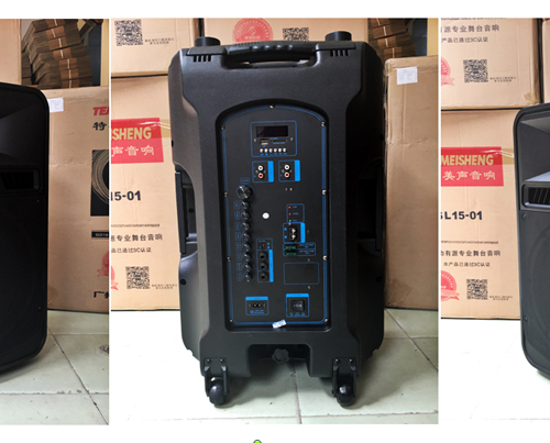 Loa vali kéo di động Bluetooth Karaoke TEMEISHENG SL15-05-4