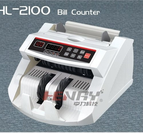 Máy đếm tiền HENRY HL-2100UV-2