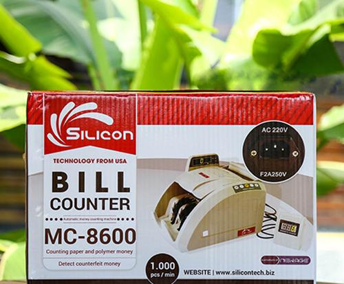 Máy đếm tiền phát hiện tiền siêu giả Silicon MC-8600-3