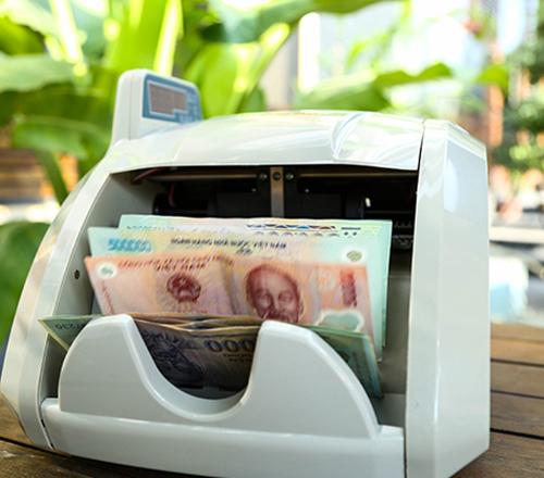 Máy đếm tiền phát hiện tiền siêu giả Silicon MC-8600-4