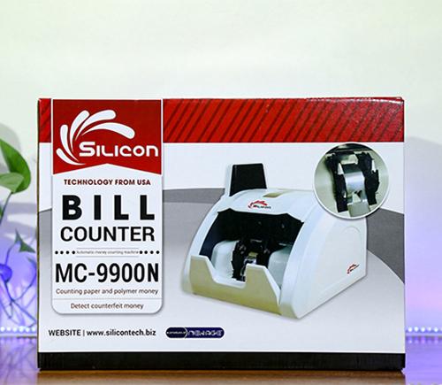 Máy đếm tiền phát hiện tiền siêu giả Silicon MC-9900N-1