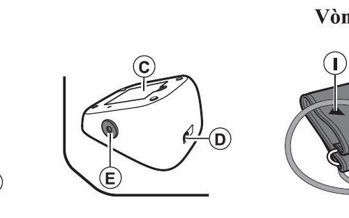 Máy đo huyết áp bắp tay Omron HEM-7120-3