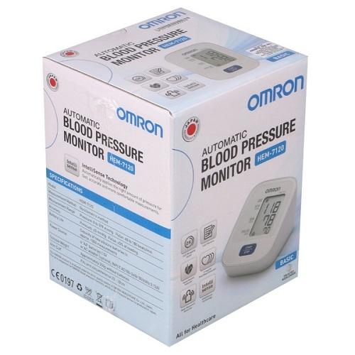 Máy đo huyết áp bắp tay Omron HEM-7120-4