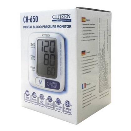 Máy đo huyết áp cổ tay Citizen CH-650-6