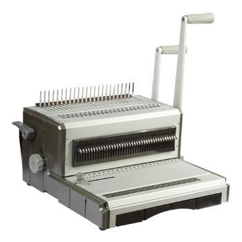 Máy đóng sách gáy xoắn đa năng SILICON BM-602D-1
