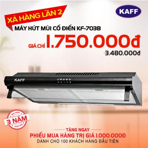 Máy hút mùi bếp 7 tấc KAFF KF-703B