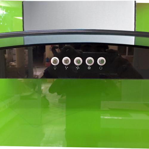 Máy hút mùi bếp kính cong 9 tấc KAFF KF-GB906-1