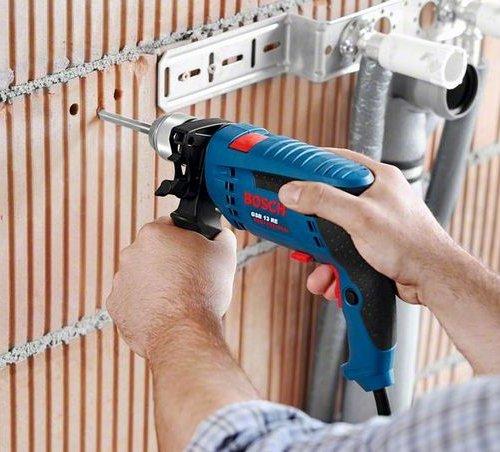 Bộ dụng cụ Máy khoan Bosch GSB 13 RE 100 chi tiết-1