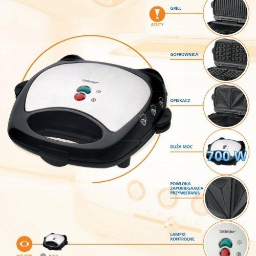 Máy làm bánh nướng Zelmer 26Z012-3