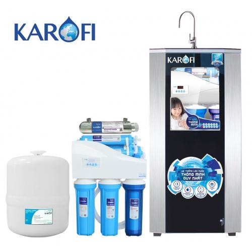 Máy lọc nước iRO KAROFI 1.1 K9I-1 (9 cấp lọc có tia UV - Bao gồm tủ cường lực)