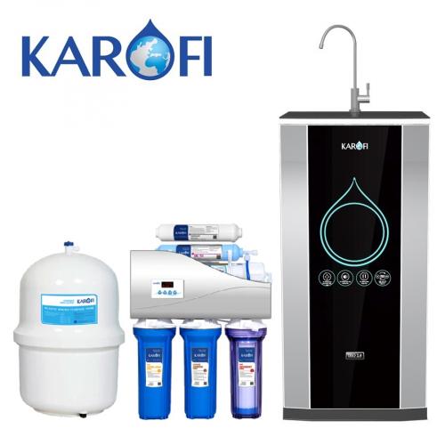 Máy lọc nước iRO KAROFI 2.0 K6IQ-2 (6 cấp lọc - Bao gồm tủ cường lực)