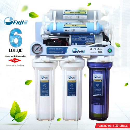 Máy lọc nước RO FUJIE RO-06 (6 cấp lọc)-3