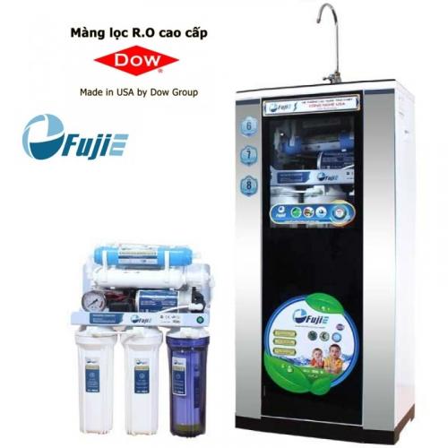 Máy lọc nước RO FUJIE RO-07 CAB (7 cấp lọc - Bao gồm tủ cường lực)-1