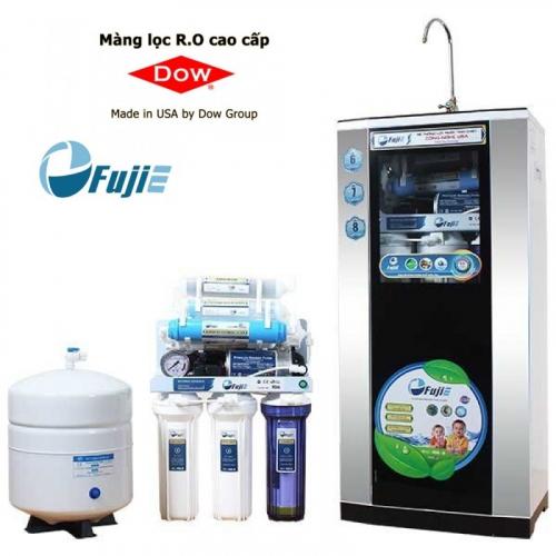 Máy lọc nước RO FUJIE RO-08 CAB (8 cấp lọc - Bao gồm tủ cường lực)-2