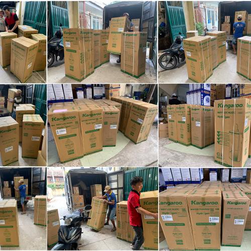 Máy lọc nước RO KANGAROO KG100HP VTU HYDROGEN (10 cấp lọc - Bao gồm tủ cường lực)-1