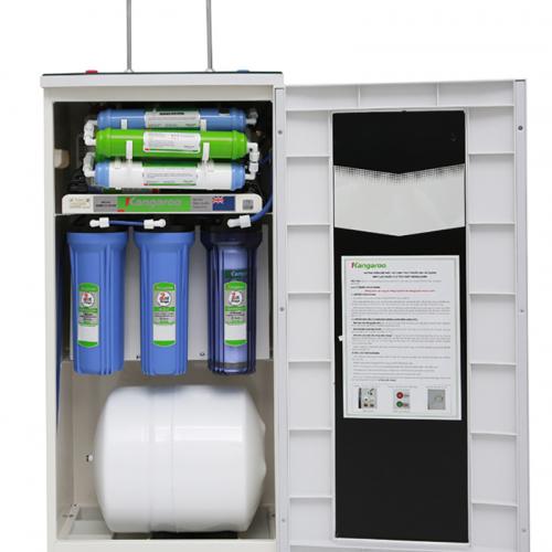 Máy lọc nước RO nóng lạnh 2 vòi KANGAROO KG09A3 (9 cấp lọc - Bao gồm tủ cường lực)-3
