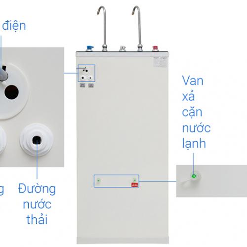 Máy lọc nước RO nóng lạnh 2 vòi KANGAROO KG09A3 (9 cấp lọc - Bao gồm tủ cường lực)-1