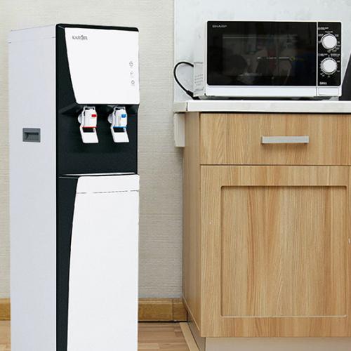 Máy lọc nước RO nóng lạnh 2 vòi KAROFI HCV351-WH-2