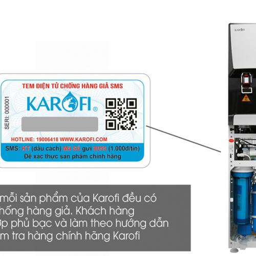 Máy lọc nước RO nóng lạnh 2 vòi KAROFI HCV351-WH-3