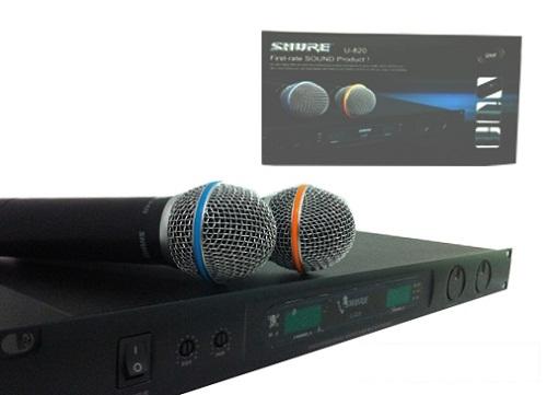 Micro không dây Shure U820-2