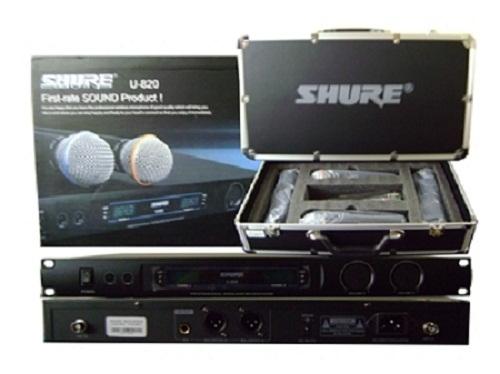 Micro không dây Shure U820-3