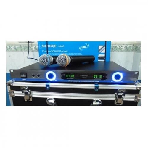 Micro không dây Shure U830-3