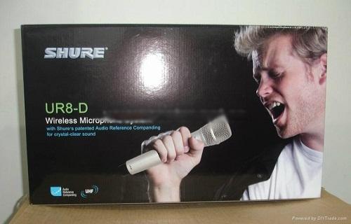 Micro không dây Shure UR8D-2