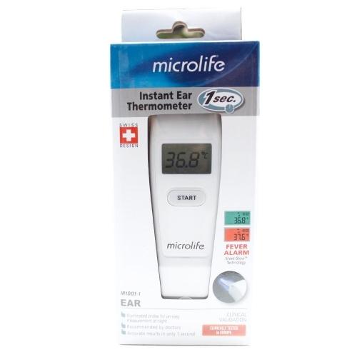 Nhiệt kế điện tử đo tai Microlife IR1DQ-1-2