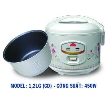 Nồi cơm điện Kim Cương 1.2LG-3