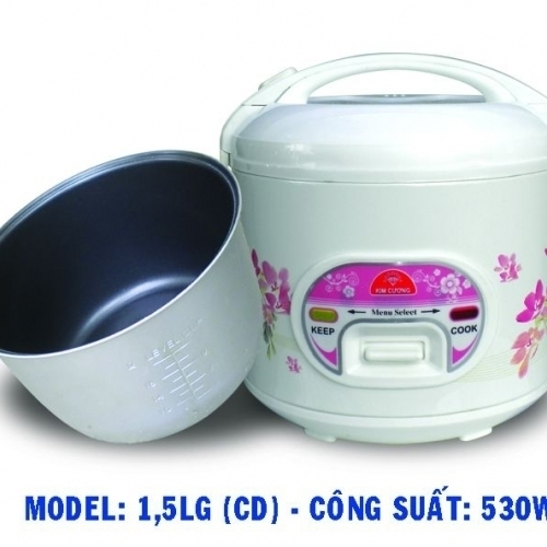 Nồi cơm điện Kim Cương 1.5LG -3