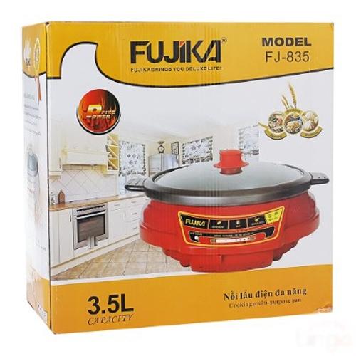 Nồi lẩu điện Fujika FJ-835, Dung tích 3.5L
