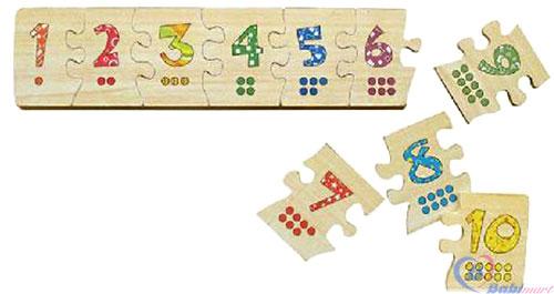Puzzle ghép số Winwintoys 63392-1