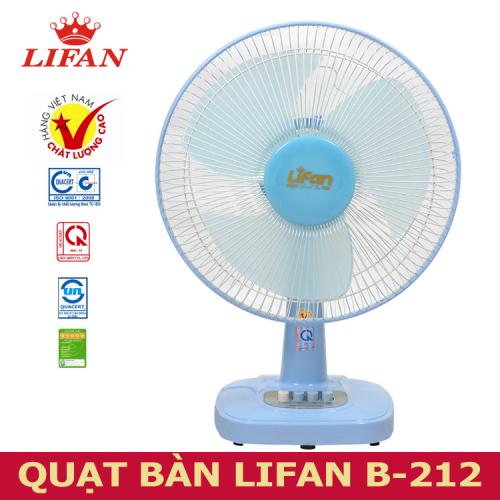 Quạt bàn Lifan B-212 -3
