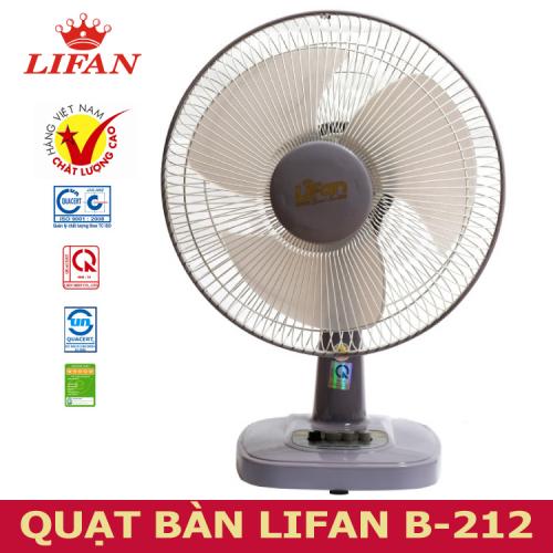 Quạt bàn Lifan B-212 -2
