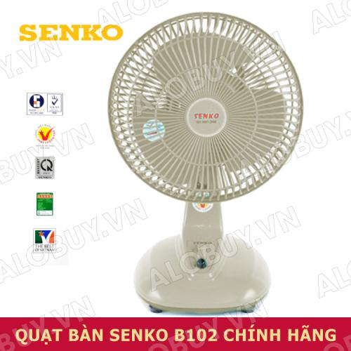 Quạt điện để bàn SENKO B102-1