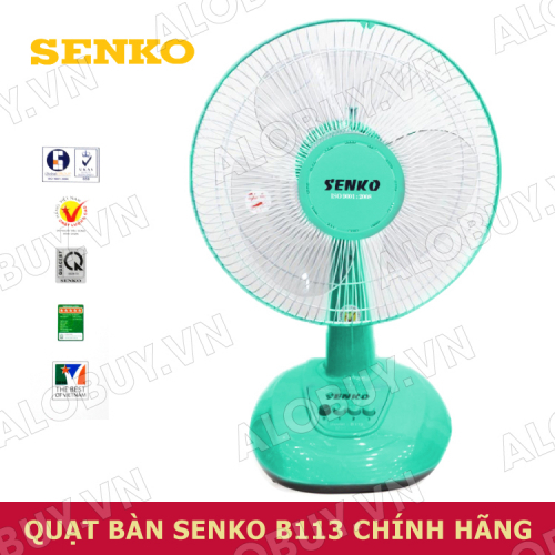 Quạt điện để bàn SENKO B113/B1213-2