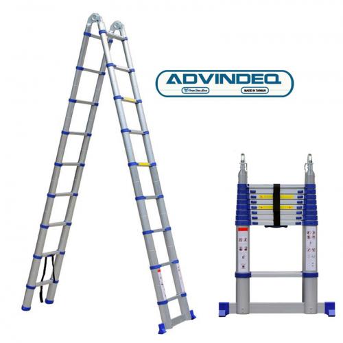 Thang nhôm chữ A rút gọn Advindeq ADT707B-3