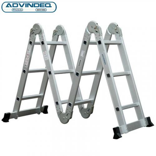 Thang nhôm gấp gọn đa năng 4 đoạn Advindeq ADM103-3