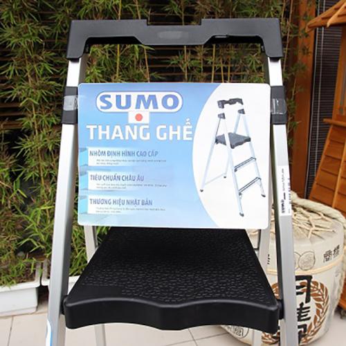 Thang nhôm ghế 3 bậc xếp gọn SUMO ADS-603-3