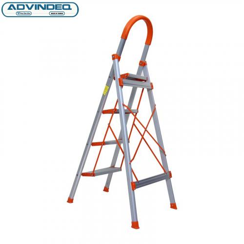 Thang nhôm ghế 4 bậc xếp gọn Advindeq ADS704-8