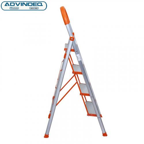 Thang nhôm ghế 4 bậc xếp gọn Advindeq ADS704-4