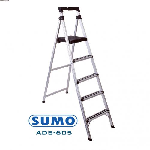 Thang nhôm ghế 5 bậc xếp gọn SUMO ADS-605