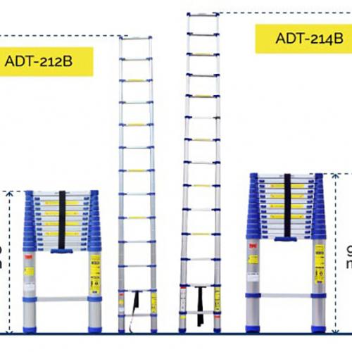 Thang nhôm rút gọn đơn Advindeq ADT212B-7