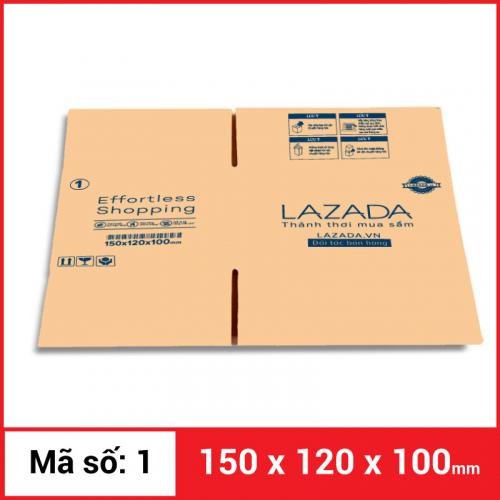 Thùng Carton gói hàng kích thước 150x120x100mm-2
