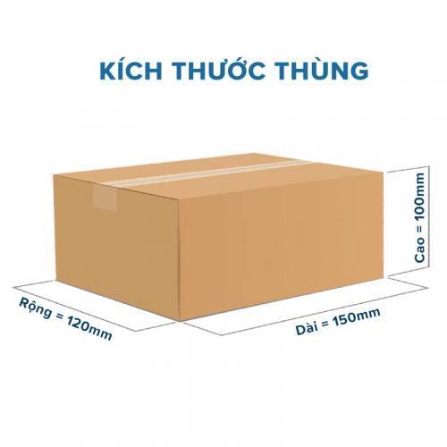 Thùng Carton gói hàng kích thước 150x120x100mm không in-5