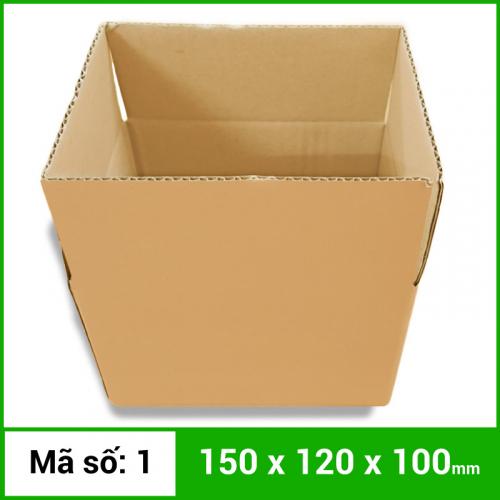 Thùng Carton gói hàng kích thước 150x120x100mm không in-3