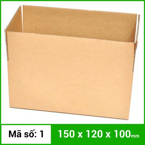 Thùng Carton gói hàng kích thước 150x120x100mm không in-4
