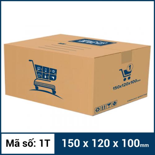 Thùng Carton gói hàng kích thước 150x120x100mm mẫu giỏ hàng