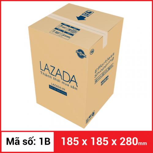 Thùng Carton gói hàng kích thước 185x185x280mm